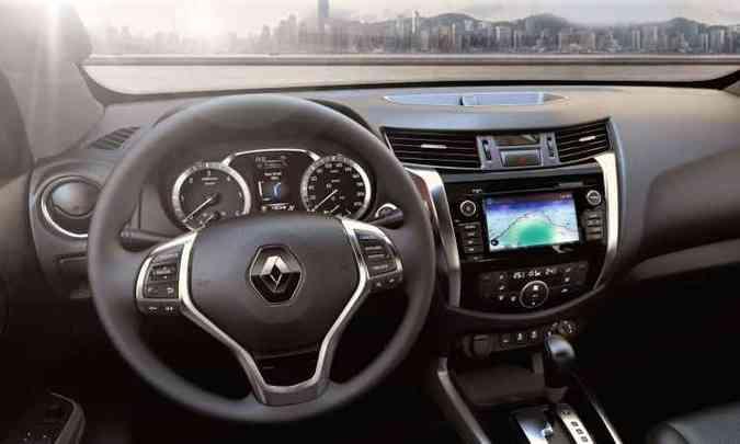 A transmissão tem opção de câmbio manual de seis marchas ou automático de sete velocidades(foto: Renault/Divulgação)