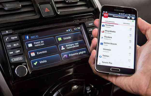 NissanConnect é gratuito para os primeiros três anos - Marcos Camargo/Nissan/Divulgação