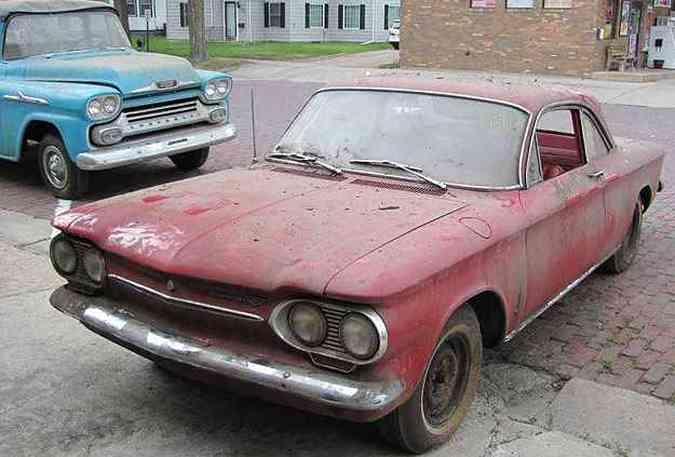 Chevrolet Corvair Monza Coupe 1963: vendido por US$42 mil(foto: VanDerBrink Auctions/Divulgação)