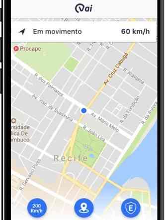 Sistema Vehicle Artificial Intelligence (VAI) permite ao usuário controlar o veículo pelo celular(foto: Wings/Divulgação)