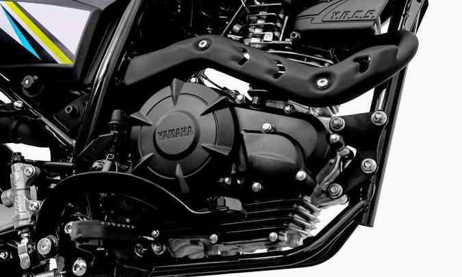 O motor de um cilindro flex entrega 12,4cv de potência com etanol(foto: Yamaha/Divulgação)