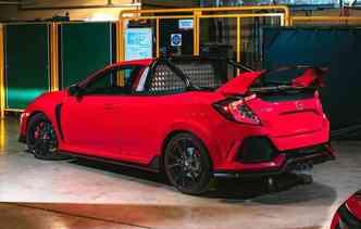 Modelo foi desenvolvido exclusivamente para um evento na Inglaterra. Foto: Honda / Divulgação
