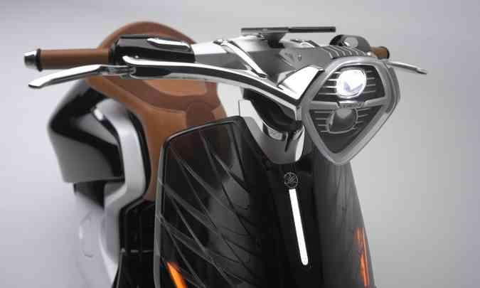 As formas são do tipo retrô, mas a tecnologia atual(foto: Yamaha/Divulgação )