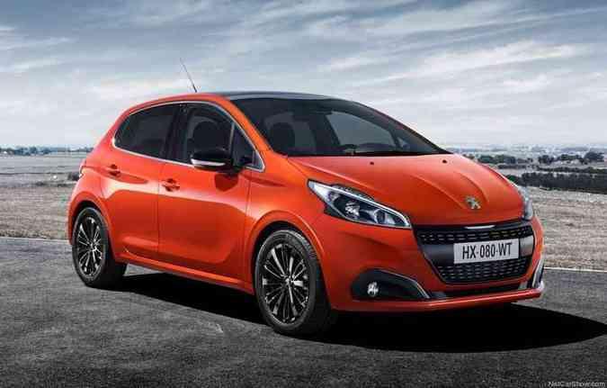 Peugeot 208 apresentou diferença no consumo(foto: Peugeot/divulgação)