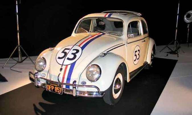 VW Fusca Herbie fez sucesso na telona(foto: Enio Greco/EM/D.A Press)