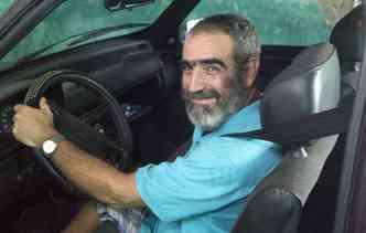 Fiat Uno 1996 de André Luiz completa 20 anos sem seguro(foto: Debora Eloy/Esp. DP)