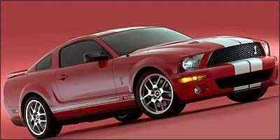 Mustang Shelby GT 500 será uma das grandes estrelas do salão - Fotos: Ford/Divulgação