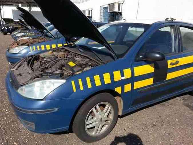 Leilão vai vender quase 100 veículos da Polícia Rodoviária Federal (PRF) em Minas GeraisThiago Ventura/EM/D.A Press