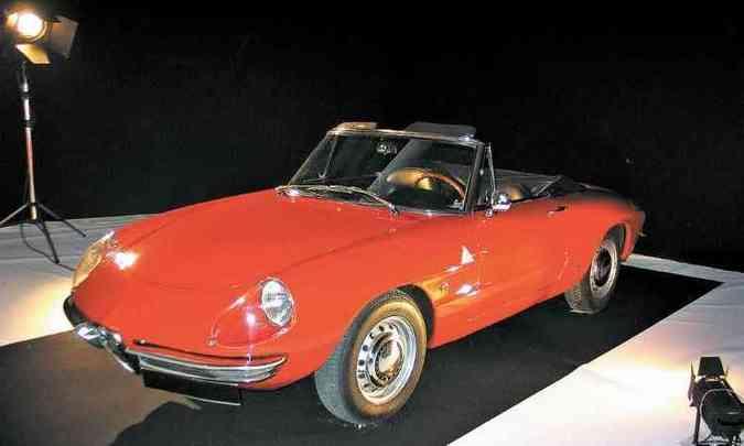 Alfa Romeo Duetto, de 1967(foto: Enio Greco/EM/D.A Press)
