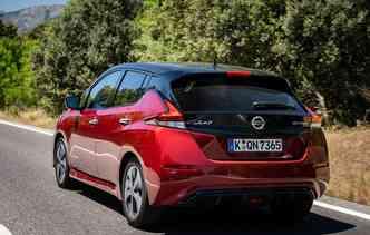 Com a tecnologia e-Powertrain, o novo Leaf entrega 110 kW (149 cavalos). Foto.: Nissan / Divulgação