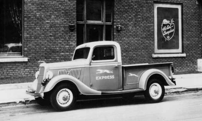 1935: Modelo 50(foto: Ford/Divulgação)