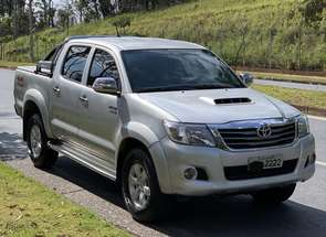 Toyota Hilux CD Srv D4-d 4x4 3.0 Tdi Diesel Aut em Belo Horizonte, MG valor de R$ 120.000,00 no Vrum