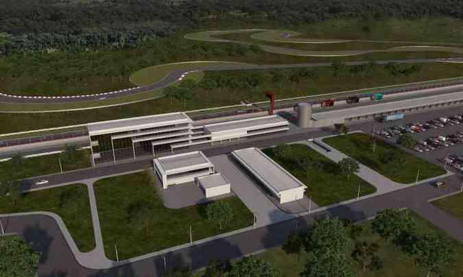 A pista fica em área de 4 milhões de metros quadrados, ao lado de Curvelo(foto: Yes Sports/Divulgação)