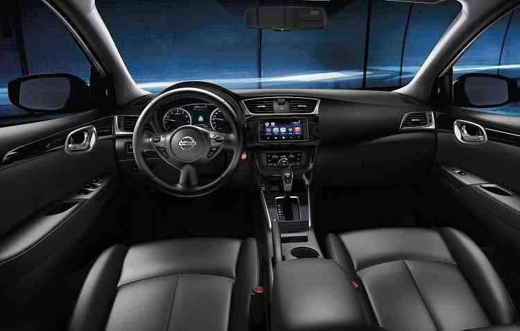 Nissan Multi-App agrega funcionalidades à tela de 6,2 polegadas. Foto: Nissan / Divulgação -