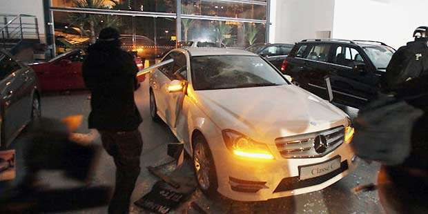 Vandalismo causou prejuízo de R$ 3 milhões para a concessionária - REUTERS