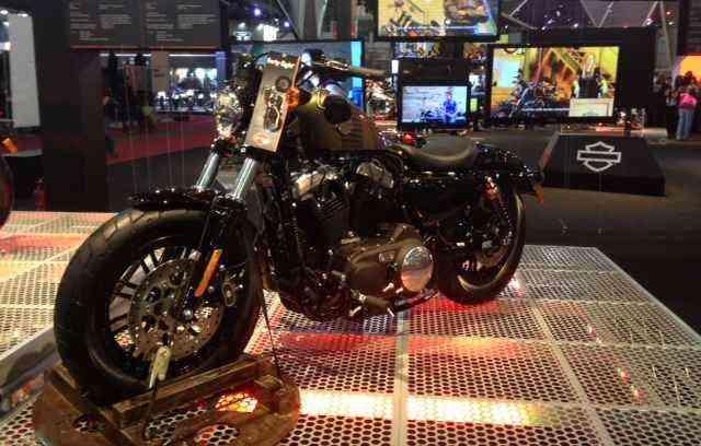 Conceito elétrico da Harley Davidson chamou atenção  - Taciana Góes/DP/DA PRESS