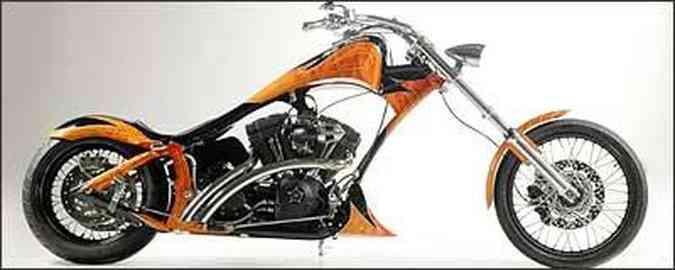 Armadillo tem quadro alongado e motor de 1.450 cm³(foto: Fotos: TMC/Divulgação)