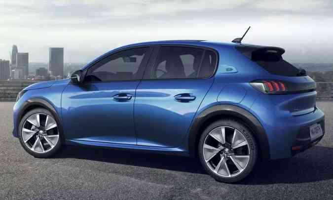 A Peugeot aposta suas fichas no novo 208 para recuperar sua participação no segmento(foto: Peugeot/Divulgação)