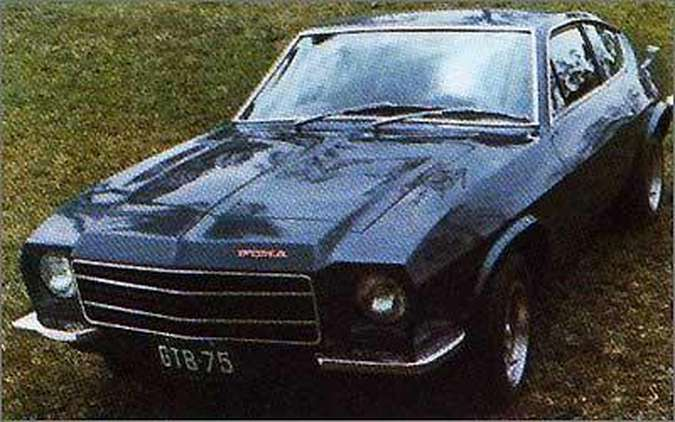 Modelo GTB de 1974 trouxe mais poder sob o capô, com o motor 4.1 do Opala(foto: Puma/Divulgação)