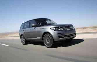 Range Rover 2015 é o segundo colocado(foto: Land Rover/Divulgacao)