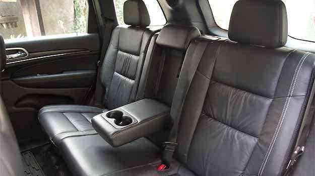 Conforto para todos os cinco ocupantes do SUV - Thiago Ventura/EM/D.A PRESS