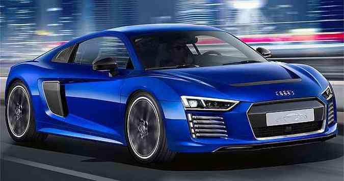 Carro é movido pelo par de motores elétricos combinados para gerar 455 cv(foto: Audi/divulgação )