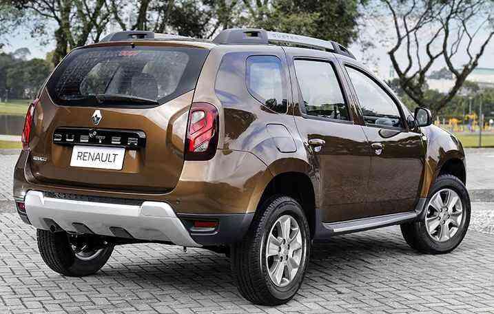 Veículo oferece porta-malas com 475 litros e 210 mm de altura do solo - Renault/Divulgação