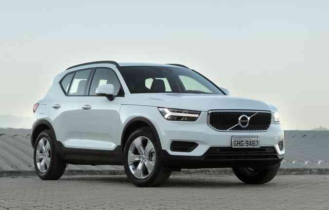 XC40 tem a versão de entrada T4 que custará R$ 169.950, chegando em julho deste ano (foto: Volvo/ Divulgação )