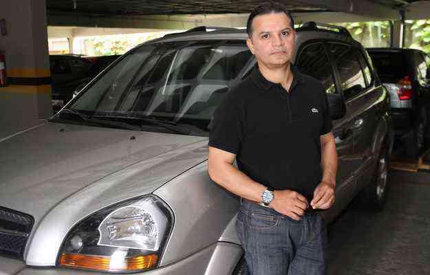 Samir Ferreira priorizou economizar em 2010, quando comprou sua Hyundai Tucson   - Júlio Jacobina/DP/DA PRESS