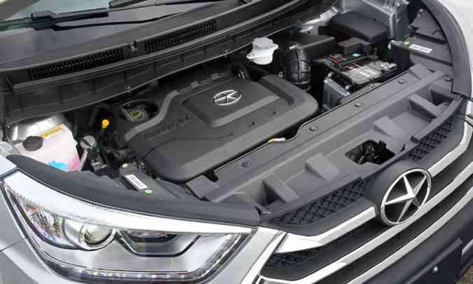 Motor 1.5 16v VVT é o mesmo do J3S e J3S Turin(foto: Divulgação/JAC)