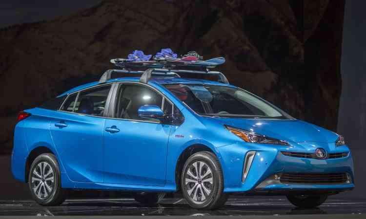 A Toyota estima que o Prius AWD-e responderá por 25% das vendas do modelo - Los Angeles Auto Show/Divulgação