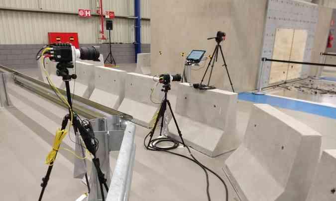São cinco câmeras de altíssima velocidade e resolução(foto: Pedro Cerqueira/EM/D.A Press)