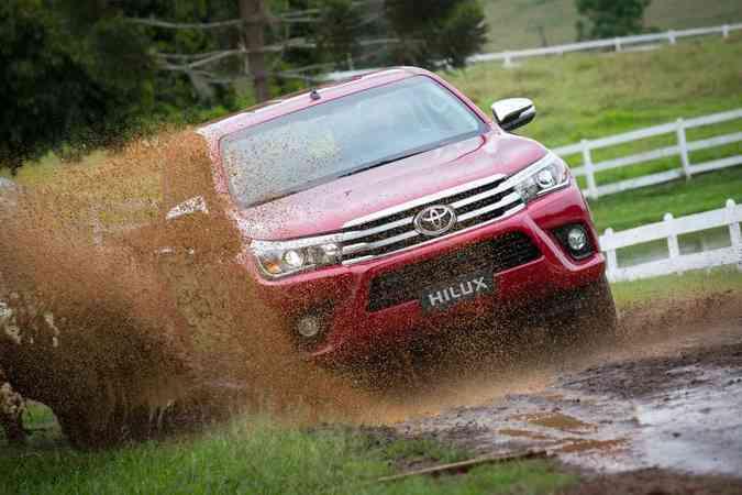 Toyota Hilux - Lançamento para América LatinaWagner Malagrine/Toyota/Divulgação