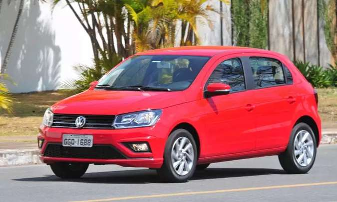 Com bom desempenho em vendas diretas, VW Gol foi o terceiro automóvel mais vendido do mês de agosto(foto: Gladyston Rodrigues/EM/D.A Press)