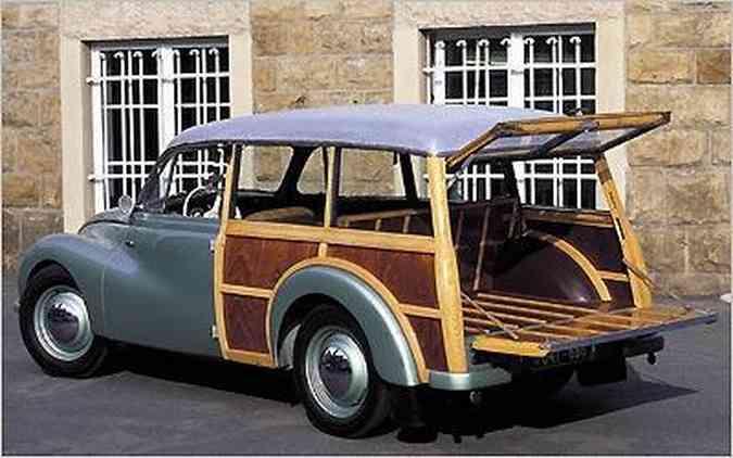 Perua alemã DKW Universal F89 S esbanja beleza e charme com carroceria construída parcialmente em madeira(foto: DKW/Divulgação)