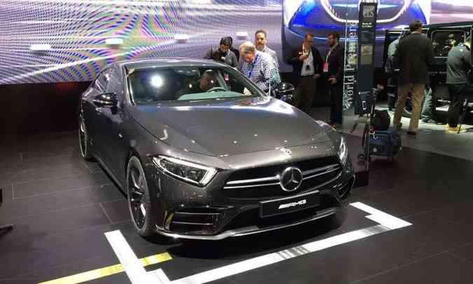 Mercedes-Benz CLS 53 AMG é o destaque da marca alemã em Detroit(foto: Enio Greco/EM/D.A Press)