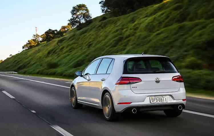 Golf GTI. Foto: Volkswagen / Divulgação -
