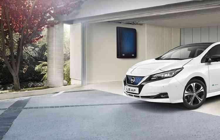 Sistema, disponível no Reino Unido, otimiza o consumo de energia elétrica. Foto: Nissan ; Divulgação -