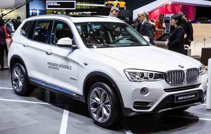 PIERRE ALBOUY(foto: Nesta quinta-feira, o Auto Bild, periódico alemão, publicou matéria afirmando que a BMW também fraudou as emissões do X3 xDrive 20d)