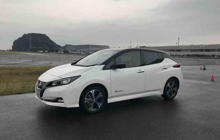 Nissan já vendeu mais de 300 mil unidades do Leaf desde que o modelo foi lançado pela primeira vez, em 2010 - Jorge Moraes / DP