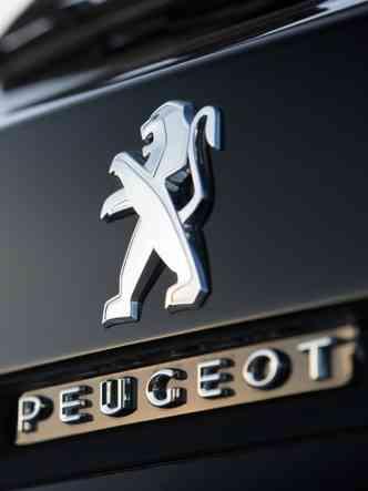 Este leão debochado se despede(foto: Peugeot/Divulgação)