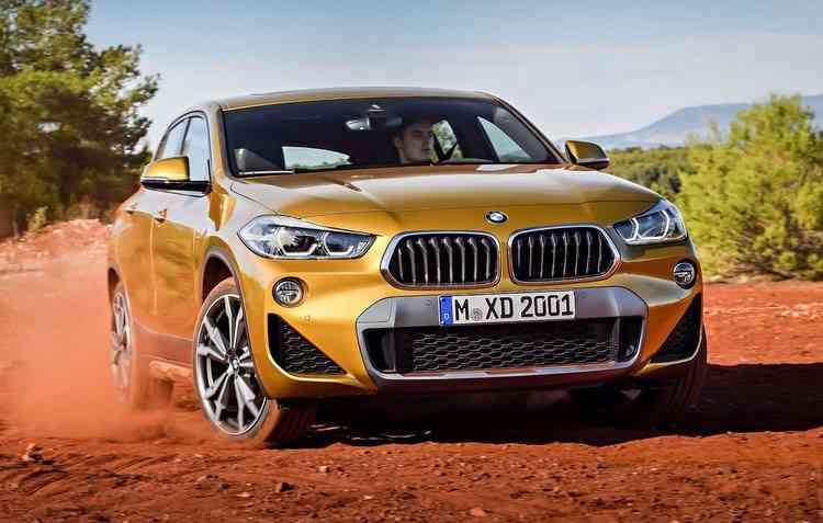 X2 chegará em duas versões com motor 2.0 TwinPower Turbo que entrega 192 cavalos. Foto: BMW / Divulgação -