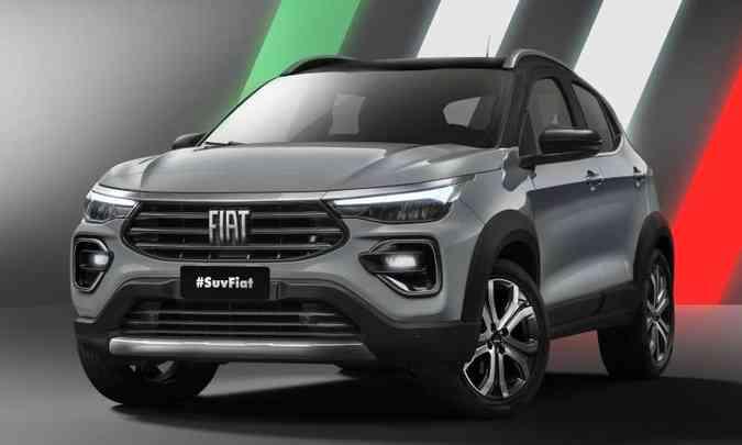 Novo SUV da Fiat tem muitas semelhanças com o hatch Argo, mas traz visual mais robusto(foto: Fiat/Divulgação)