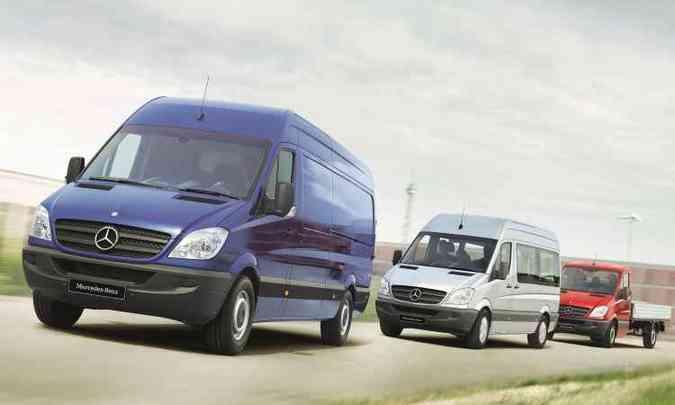 Van da Mercedes-Benz é fabricada em seis unidades ao redor do globo(foto: Mercedes-Benz/Divulgação)