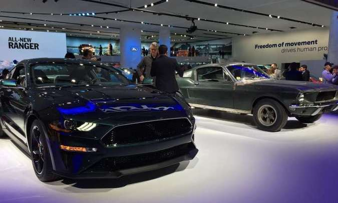 O novo Mustang Bullitt tem motor V8 5.0 litros de 480cv(foto: Enio Greco/EM/D.A Press)
