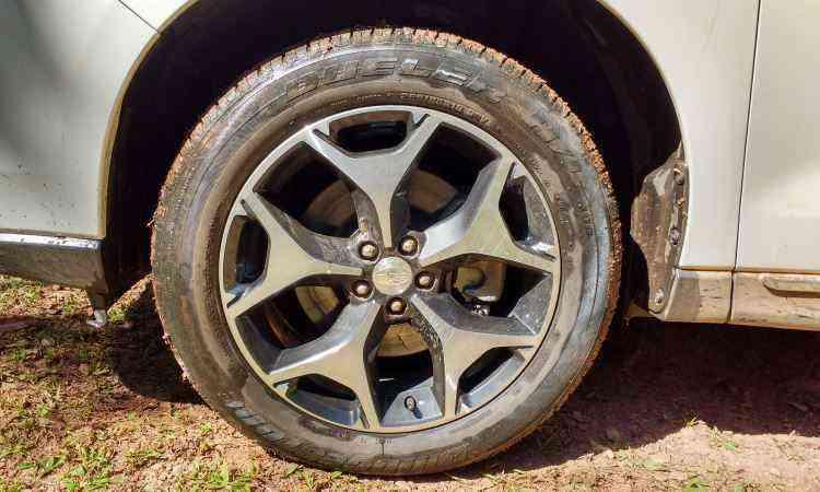 Rodas são aro 18 polegadas - Pedro Cerqueira/EM/D.A Press