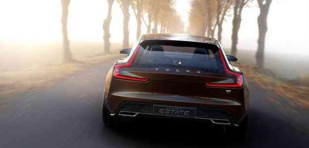 Modelo é o último da trilogia de conceitos revelados pela Volvo - Volvo/divulgação