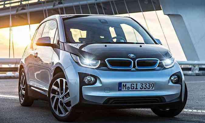 BMW i3, monovolume 100% elétrico(foto: BMW/Divulgação)