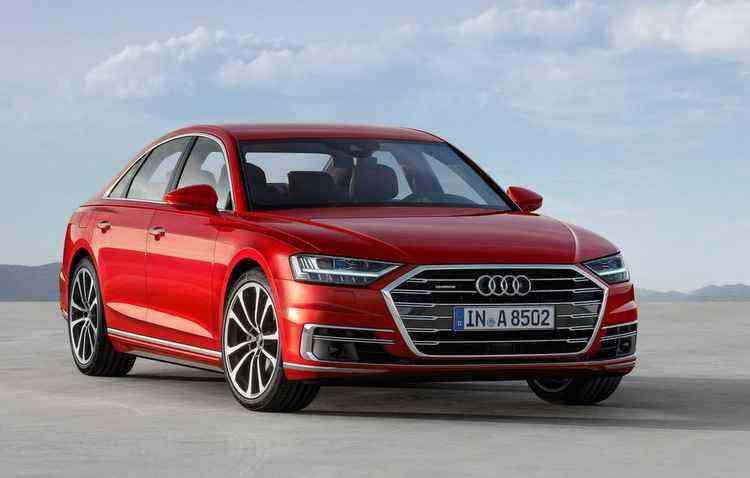Nova geração do A8 é revelada em Barcelona - Audi/Divulgação