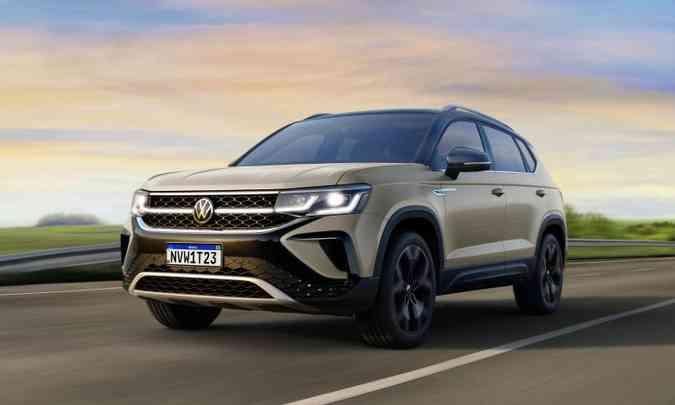 Para ter o Volkswagen Taos por assinatura na garagem o cliente paga a partir de R$ 3.399 mensais (foto: Volkswagen/Divulgação)